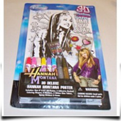 Hannah Montana 3D Deluxe Poster