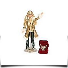 Discount Hannah Montana Holiday Singing Doll Gold